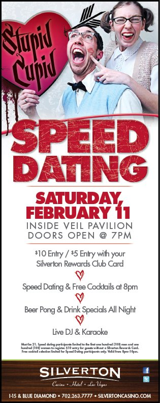 Speed dating las vegas silverton