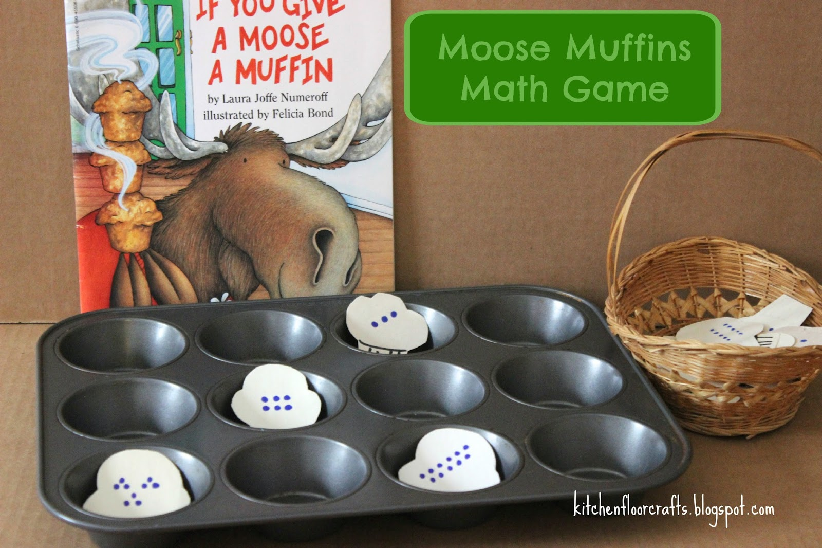 Kitchen Floor Crafts Moose Muffins Math Game