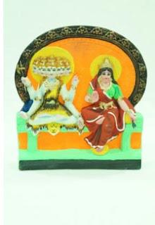 Panchamukha Shiva And Parvati