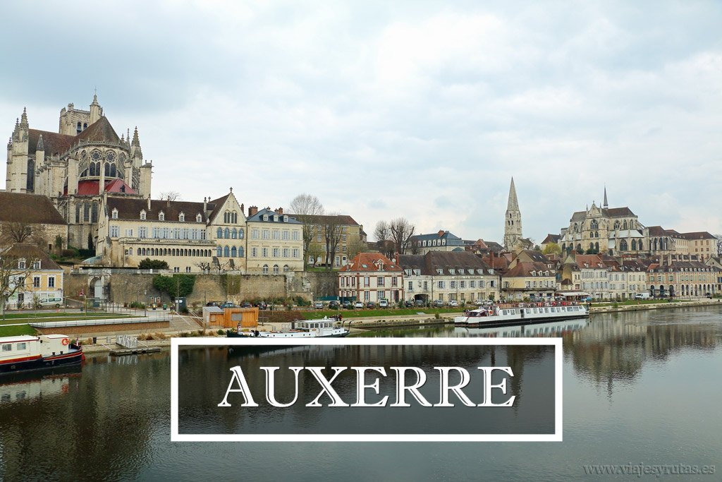 Auxerre, corazón de la Borgoña, Francia