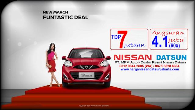Promo Nissan New March 1.2 MT Jakarta