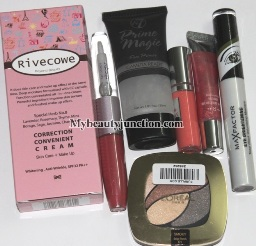 Multi-prize international makeup giveaway prizes