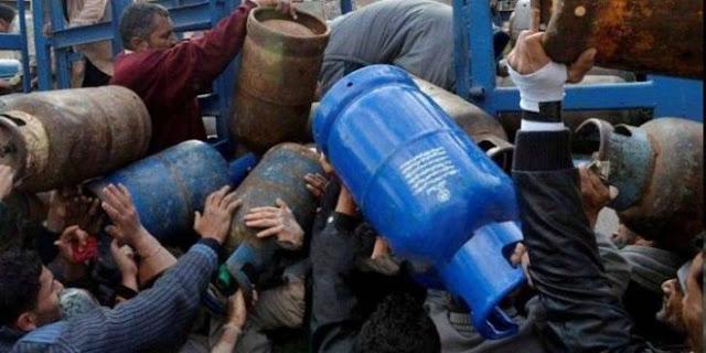 النفط: إنفراج قريب بعد وصول 5 آلاف طن من مادة الغاز المنزلي.!!