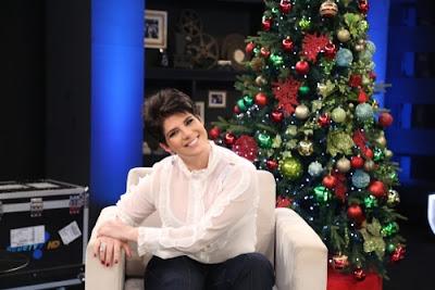 Mariana Godoy na poltrona de seu programa 'Mariana Godoy Entrevista' - Crédito/Foto: Divulgação/RedeTV!