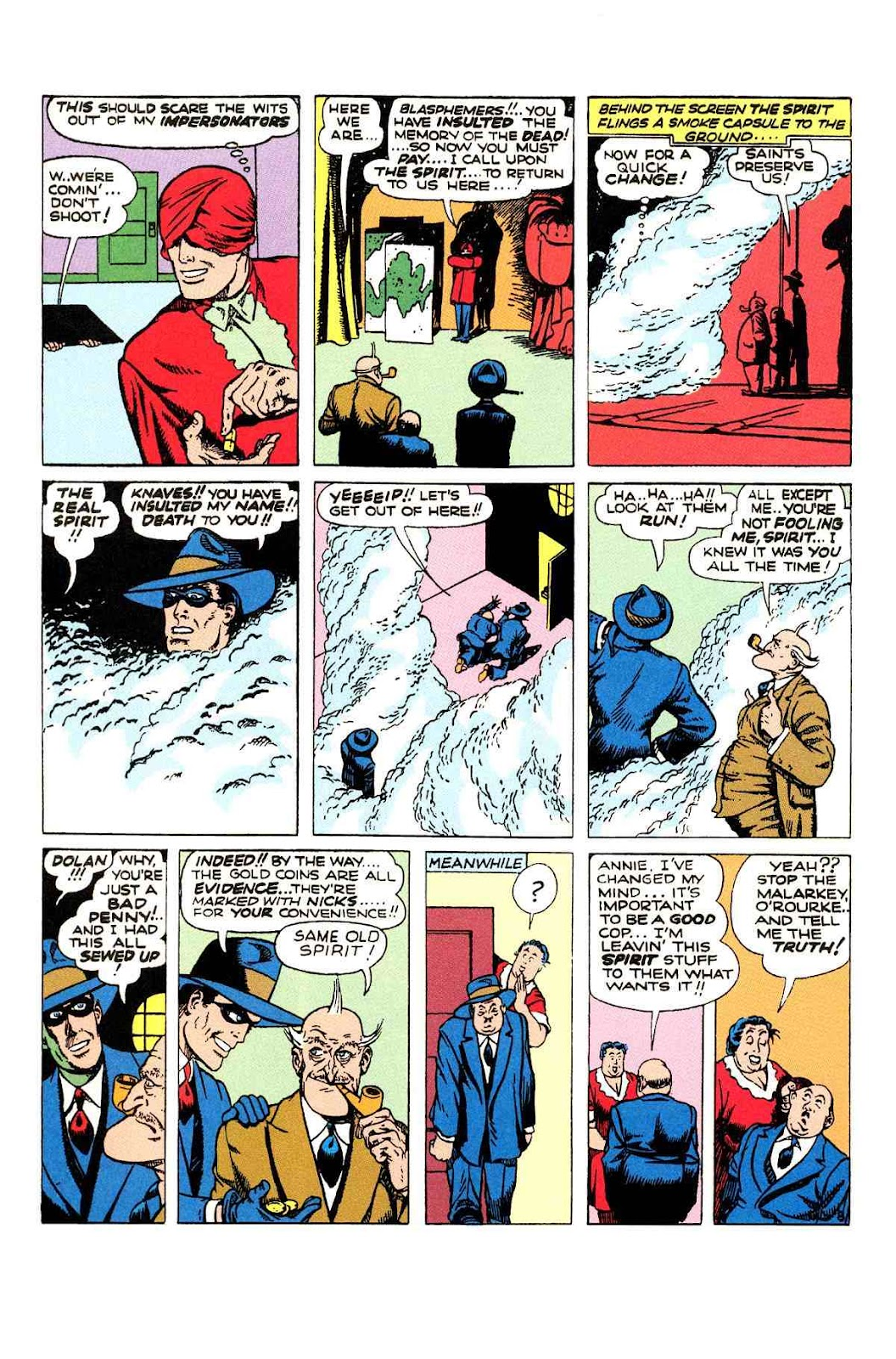 Read online Will Eisner's The Spirit Archives comic -  Issue # TPB 2 (Part 1) - 48