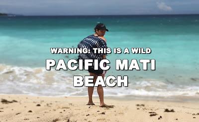 Swim At Your Own Risk on this Wild Pacific Mati Beach, Philippine Beaches - taken in Dahican Beach, Mati, Davao