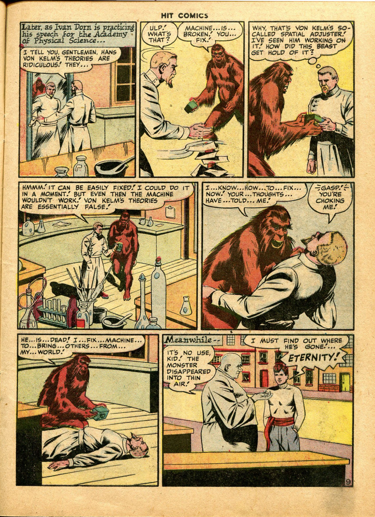 Read online Hit Comics comic -  Issue #49 - 11