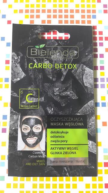 Bielenda Carbo Detox oczyszczająca maska węglowa