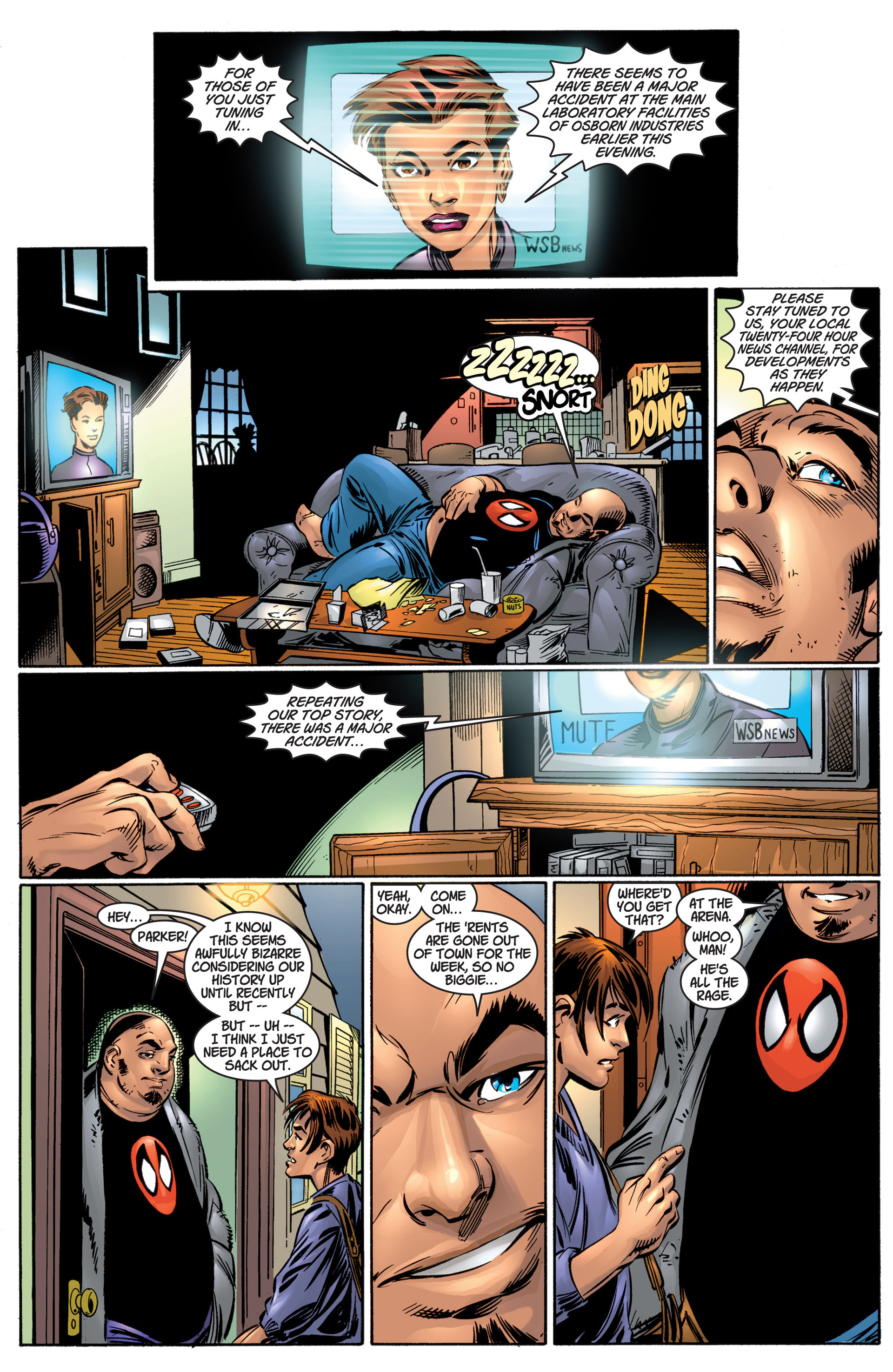 Read online Ultimate Spider-Man (2000) comic -  Issue #4 - 14