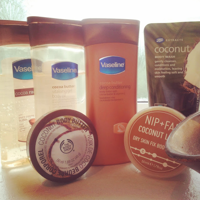 coconut body products