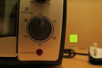 dritter Regler: Andrew James – 23 Liter Mini Ofen und Grill mit 2 Kochplatten in Schwarz – 2900 Watt – 2 Jahre Garantie