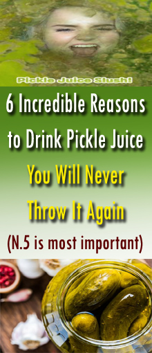 6 Incredible Reasons to Drink Pickle Juice – You Will Never Throw It Again #HealthRemedies
