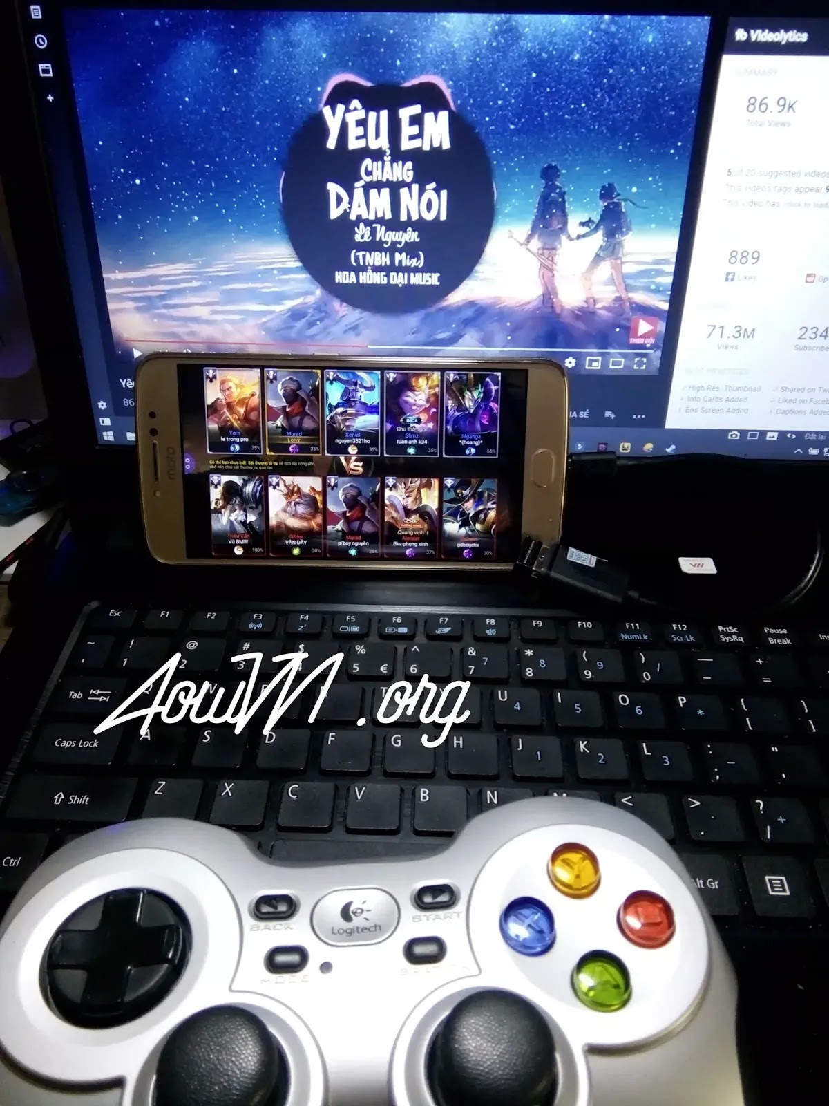 AowVN.org minz%2B%25288%2529 - Tổng hợp những tay cầm chơi game nên mua cho điện thoại | Gamepad Android & IOS