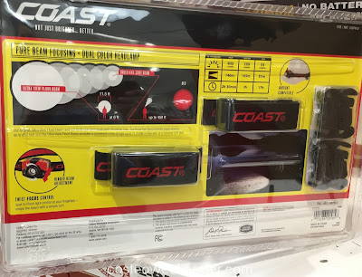 Costco 1087612 - Coast Dual Color Focusing LED Headlamp: great for night hikes or construction jobs