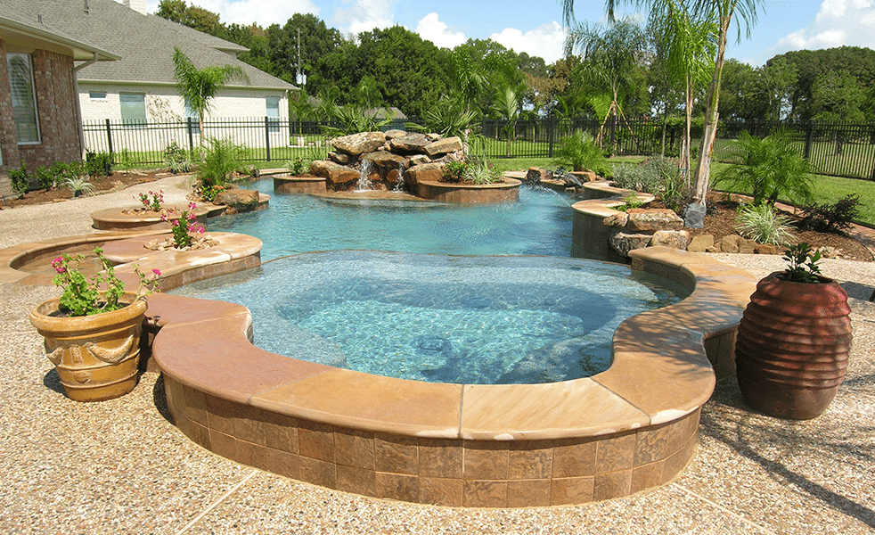 Custom Free From Inground Rock Pools DFW 3