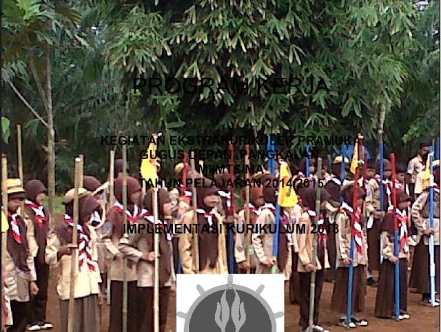 Download Contoh Progam Kerja Ekstrakulikuler Pramuka