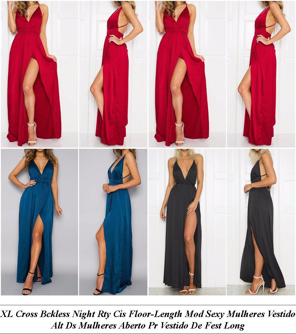 White Party Dresses Amazon - Womens Clothing Sale Online Australia - Summer Each Piece Dress