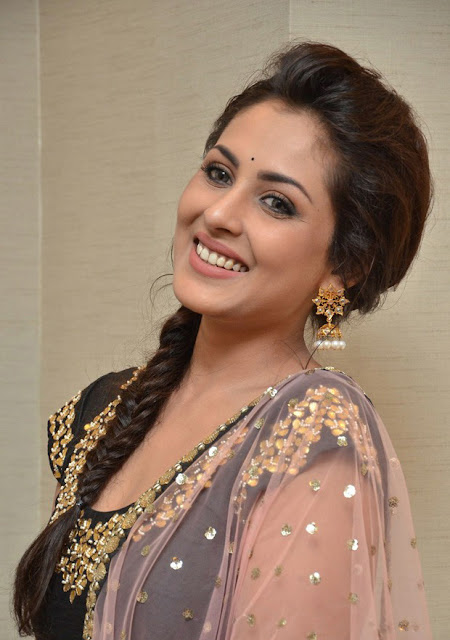 Tollywood Celebrities Madhu Shalini At Cheekati Rajyam Success Meet Photos