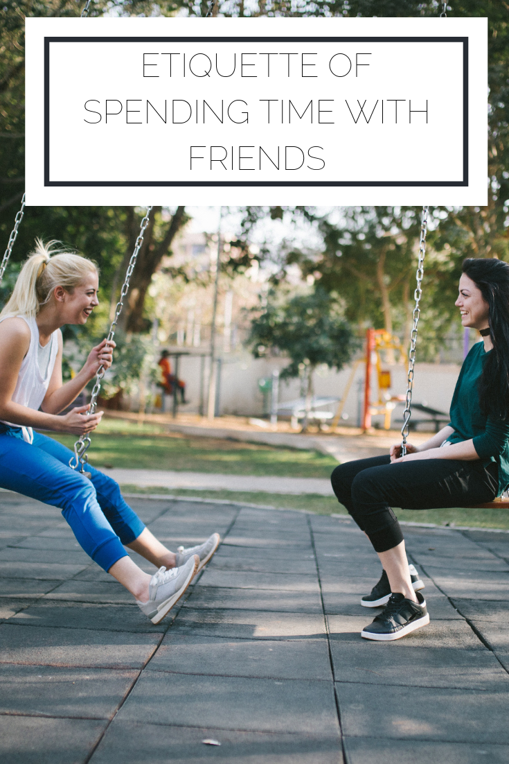 Click to read now or pin to save for later! Make sure you are treating your friends well with these etiquette tips in mind