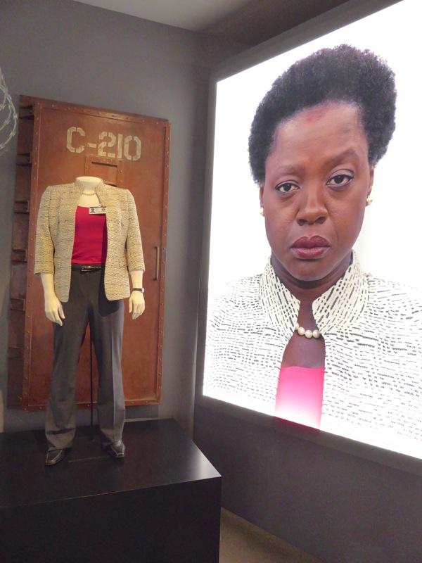 Viola Davis Suicide Squad Amanda Waller movie costume