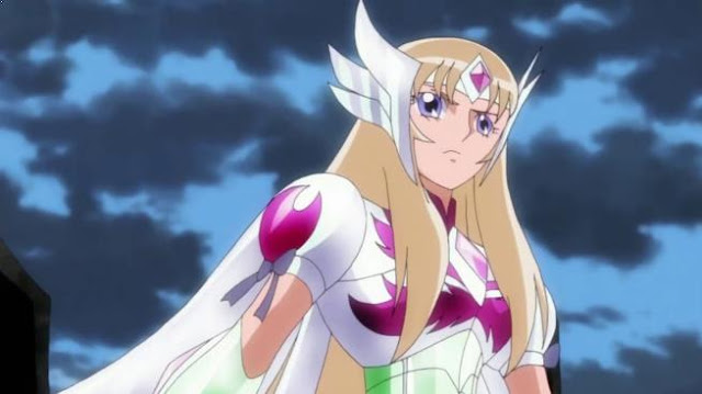 Aquila Yuna (Saint Seiya Omega) - Karakter Anime Berkekuatan Angin Terkuat