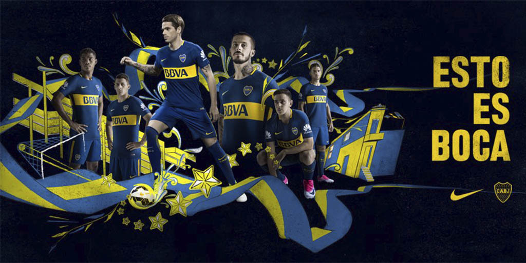 Boca Juniors 17-18 Home And Away Kits Released