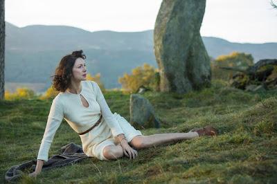 Claire Beauchamp no Craigh na Dun