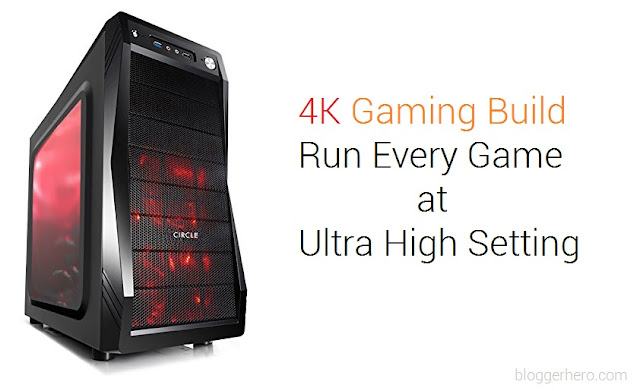 4K Gaming PC Build under 1 lakh in India