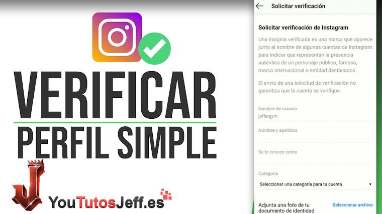Como Verificar Cuenta de Instagram - Trucos Instagram