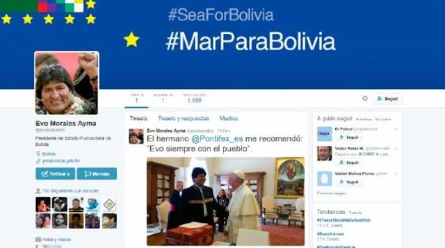 Evo Morales supera 100.000 seguidores en Twitter y reconoce que no fue fácil entrar en RRSS