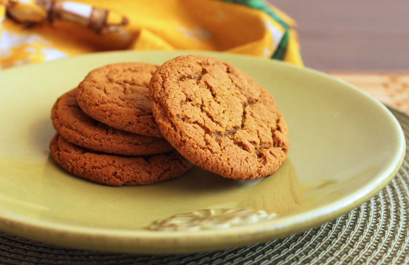 Scientifically Sweet Chewy Gooey Molasses Ginger Cookies