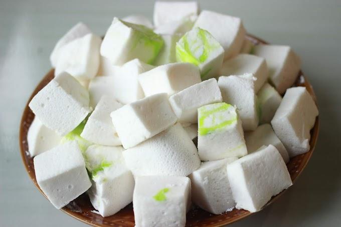 Proses Membuat Permen Marshmallow