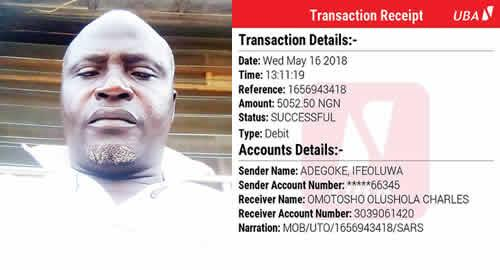 Lagos SARS officer extort cash from woman, her friends, threaten to kill them
