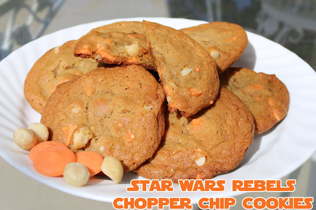 Star Wars Rebels Chopper Chip Cookies Recipe