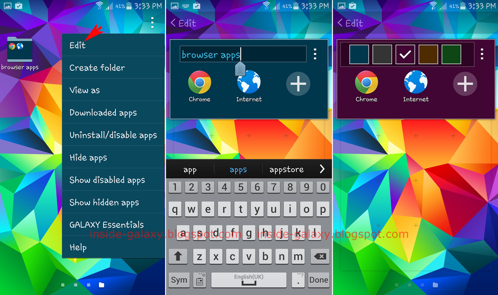 How To Customize Folder In Apps Menu? Once You Create A New Folder, You