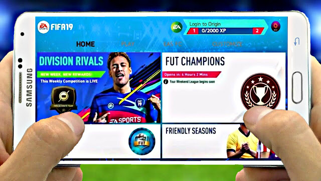FIFA 19 MOD FIFA 14 Android Best Graphics Offline Real Faces