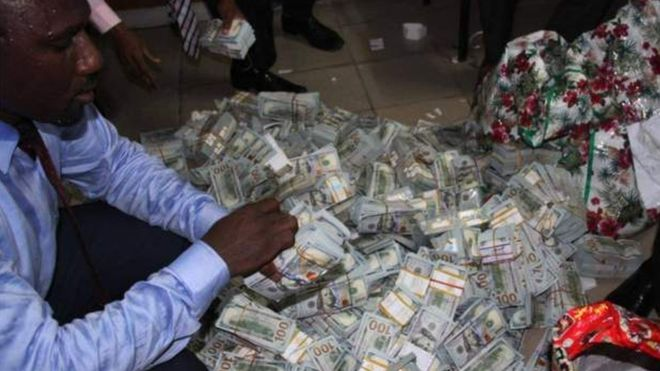Nigeria's EFCC 'finds $43m in Lagos flat'