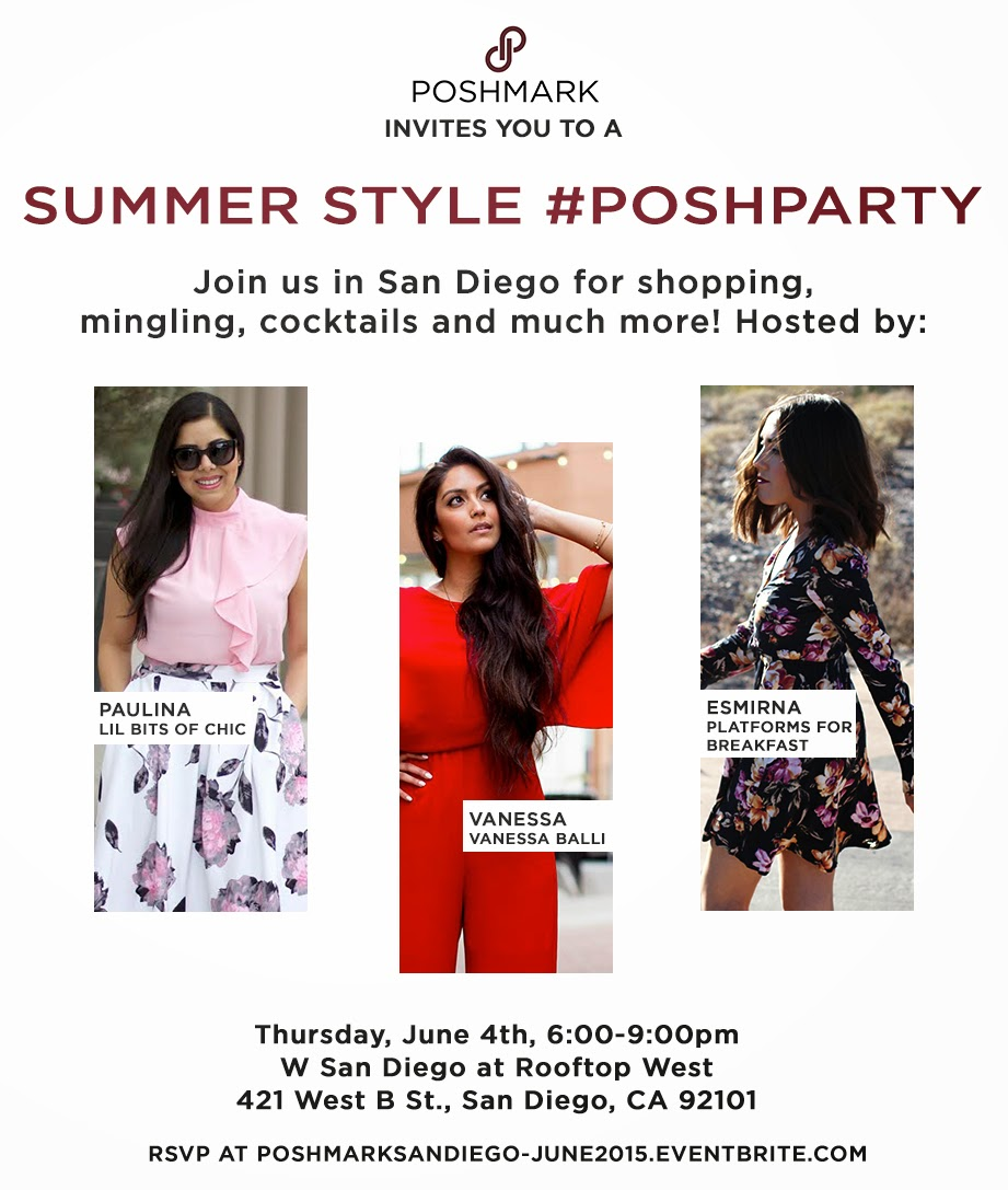Poshmark Party in San Diego, Poshparty in San Diego, W Hotel San Diego, Fashionable event in San Diego