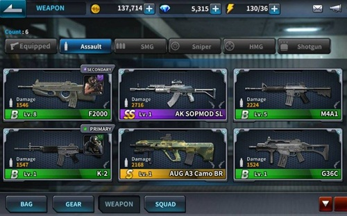 senjata point blank mobile