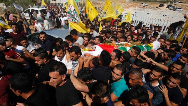 Un funeral palestino acaba en choques con militares israelíes