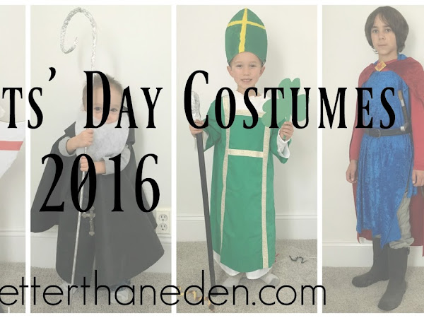 All Saints' Day Costumes and Party - 2016