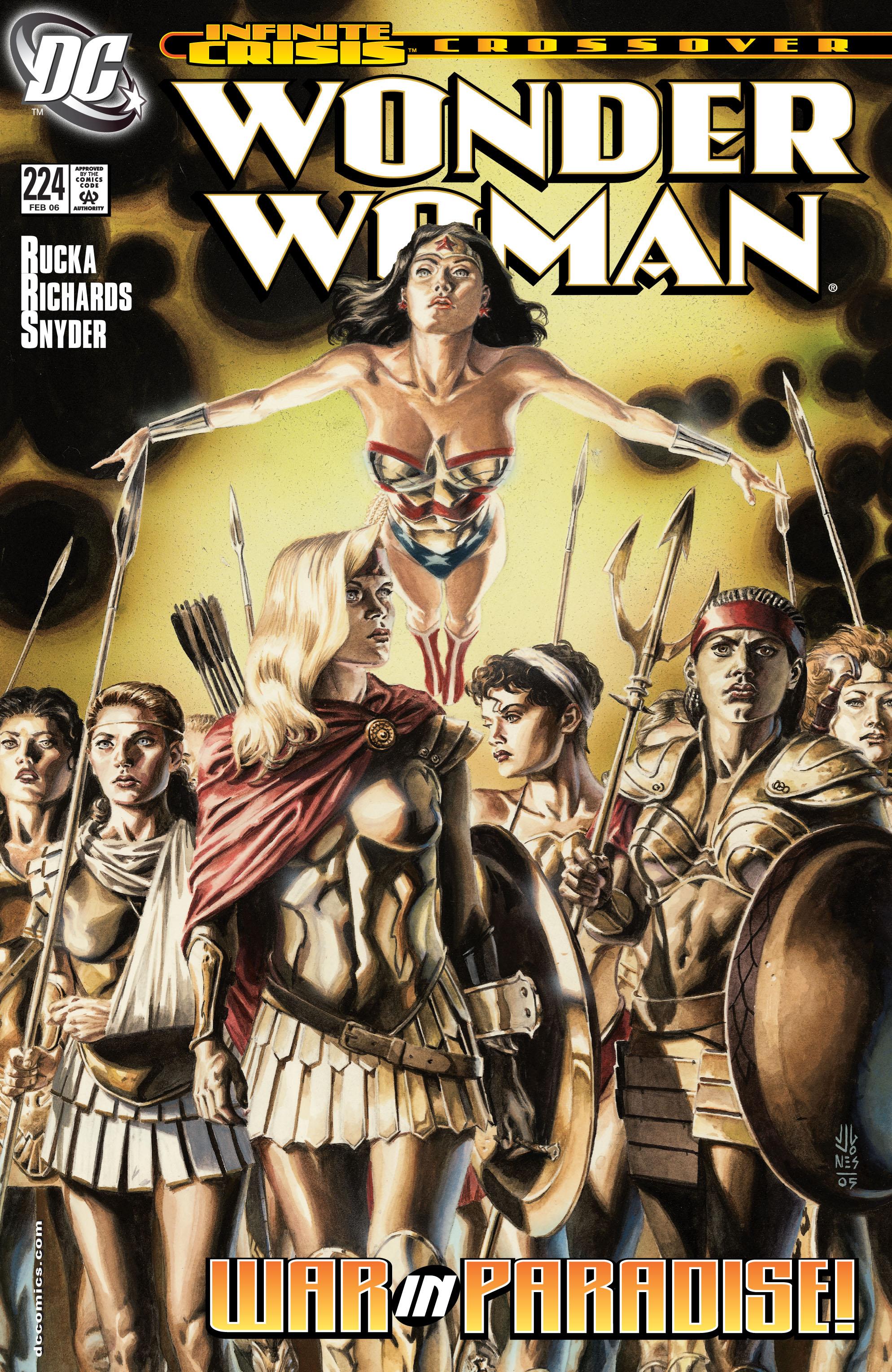 Read online Wonder Woman (1987) comic -  Issue #224 - 1
