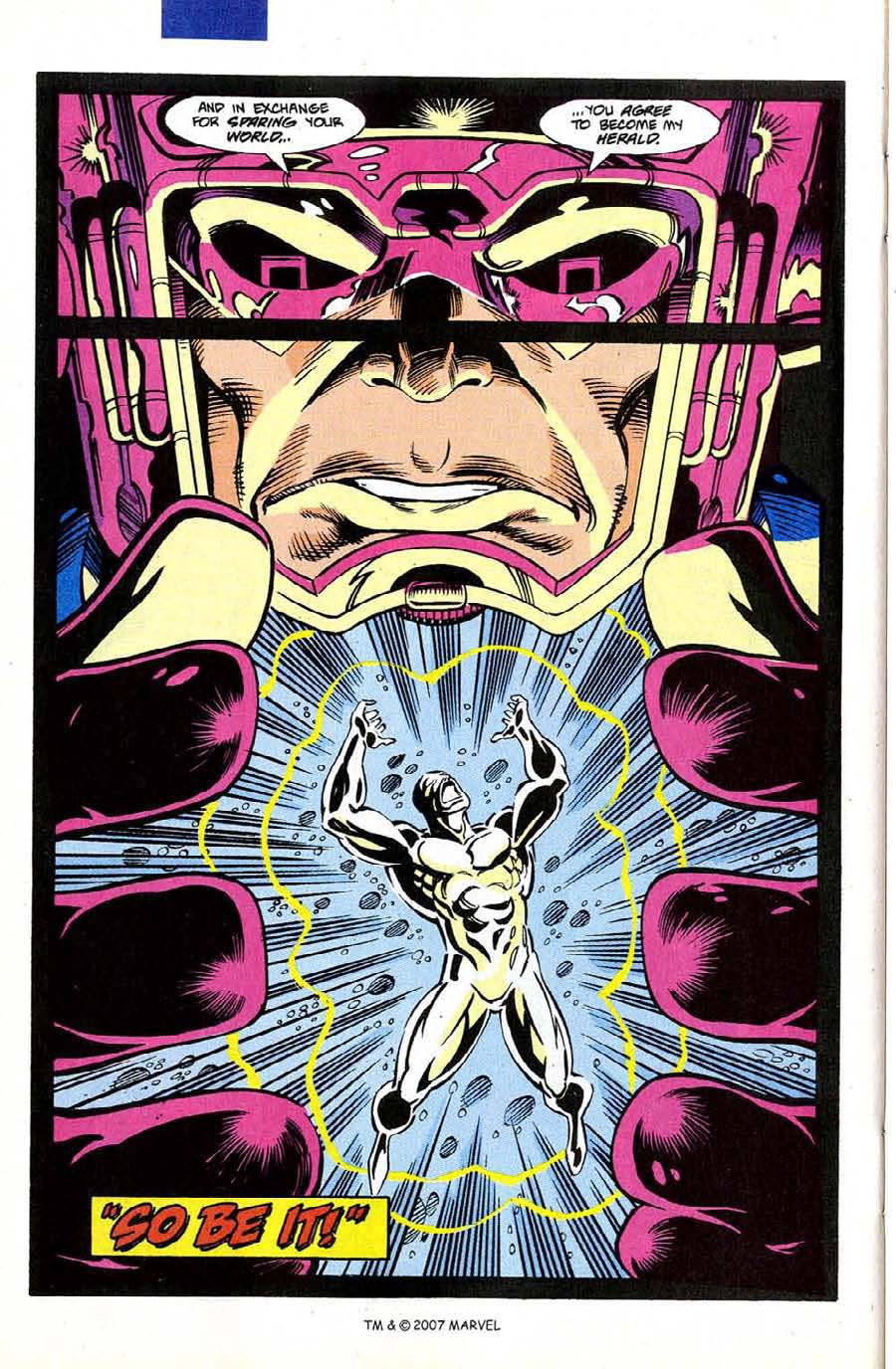 Read online Silver Surfer (1987) comic -  Issue #50 - 38