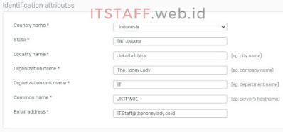 Install SSL Certificate Self-signed Sophos XG - ITSTAFF.web.id