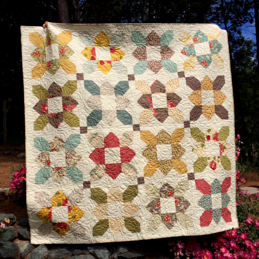 The Prairie Flowers Quilt Free Tutorial