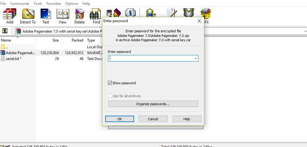 adobe pagemaker 7.0 serial key download