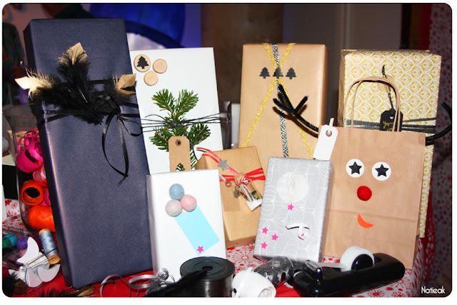 idées pour emballer ses cadeaux de Noël