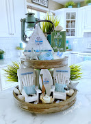 Lake Life Theme for Tiered Tray