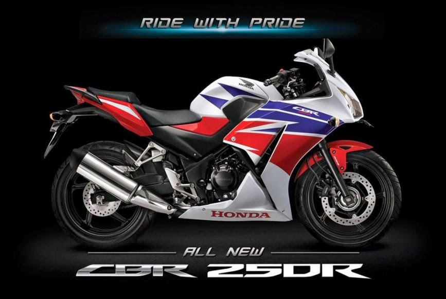 Ini dia pilihan warna All New Honda CBR 250R 2014 Dual Keen Eyes . . .