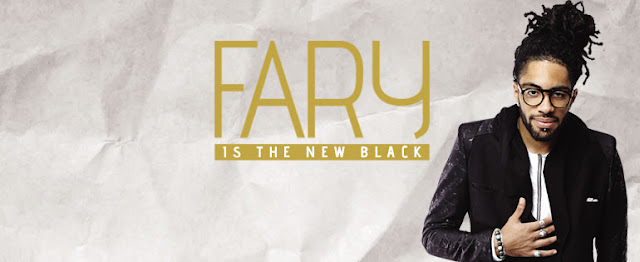 affiche officielle Fary is the new black stand up oneman show